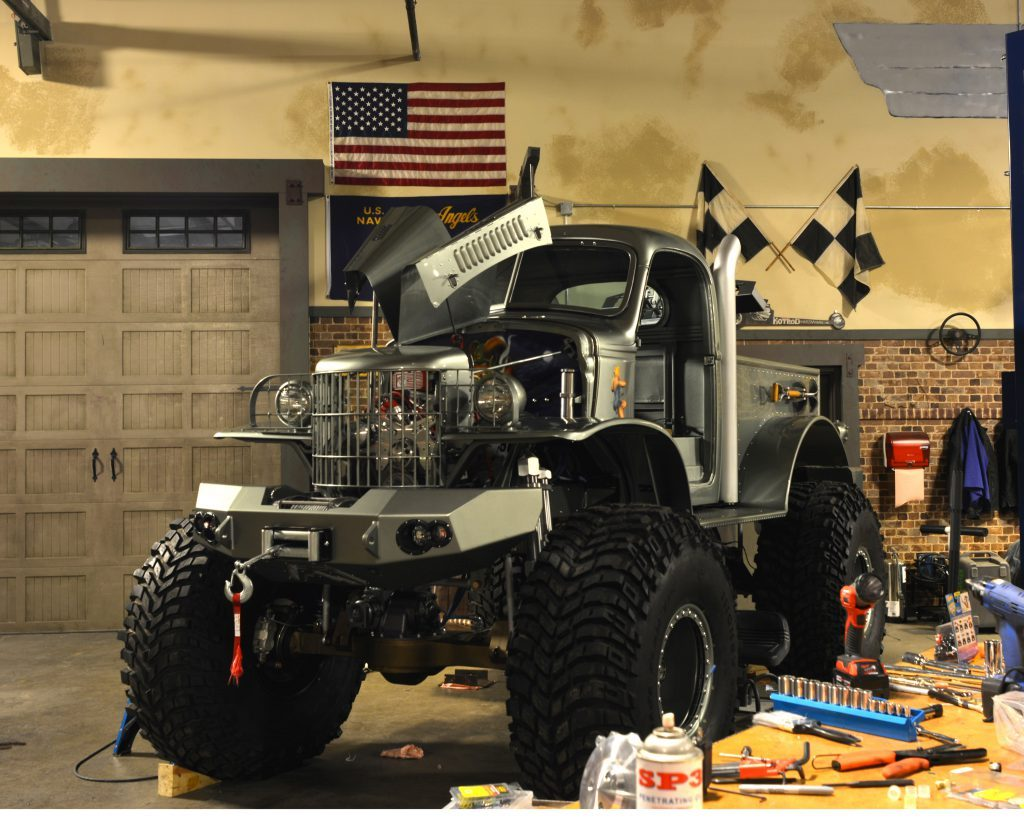 Sgt. Rock 1941 Military 1/2-ton Dodge 4×4 pickup truck