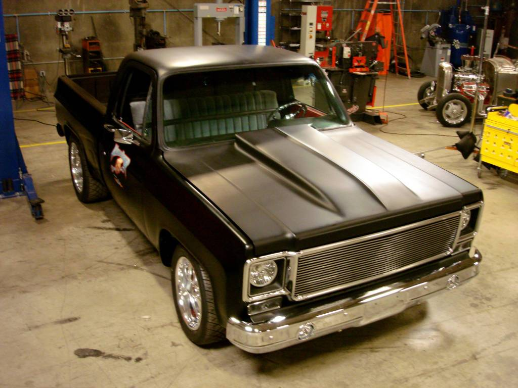 Knuckle Buster - 1973 Chevy 1/2 Ton, 2WD Pickup