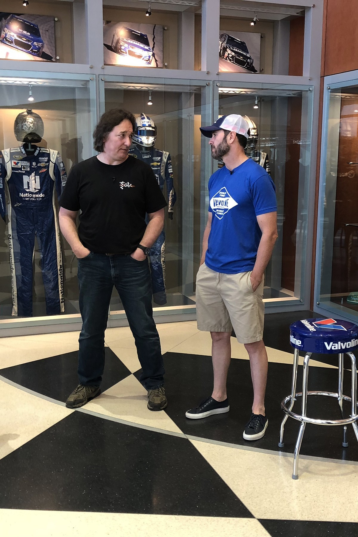 Jimmie talks LeMans, Baja 1000
