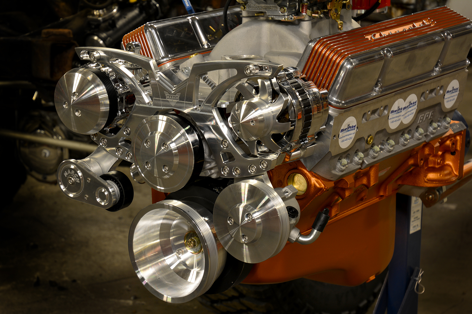 Stunt Double engine assembly
