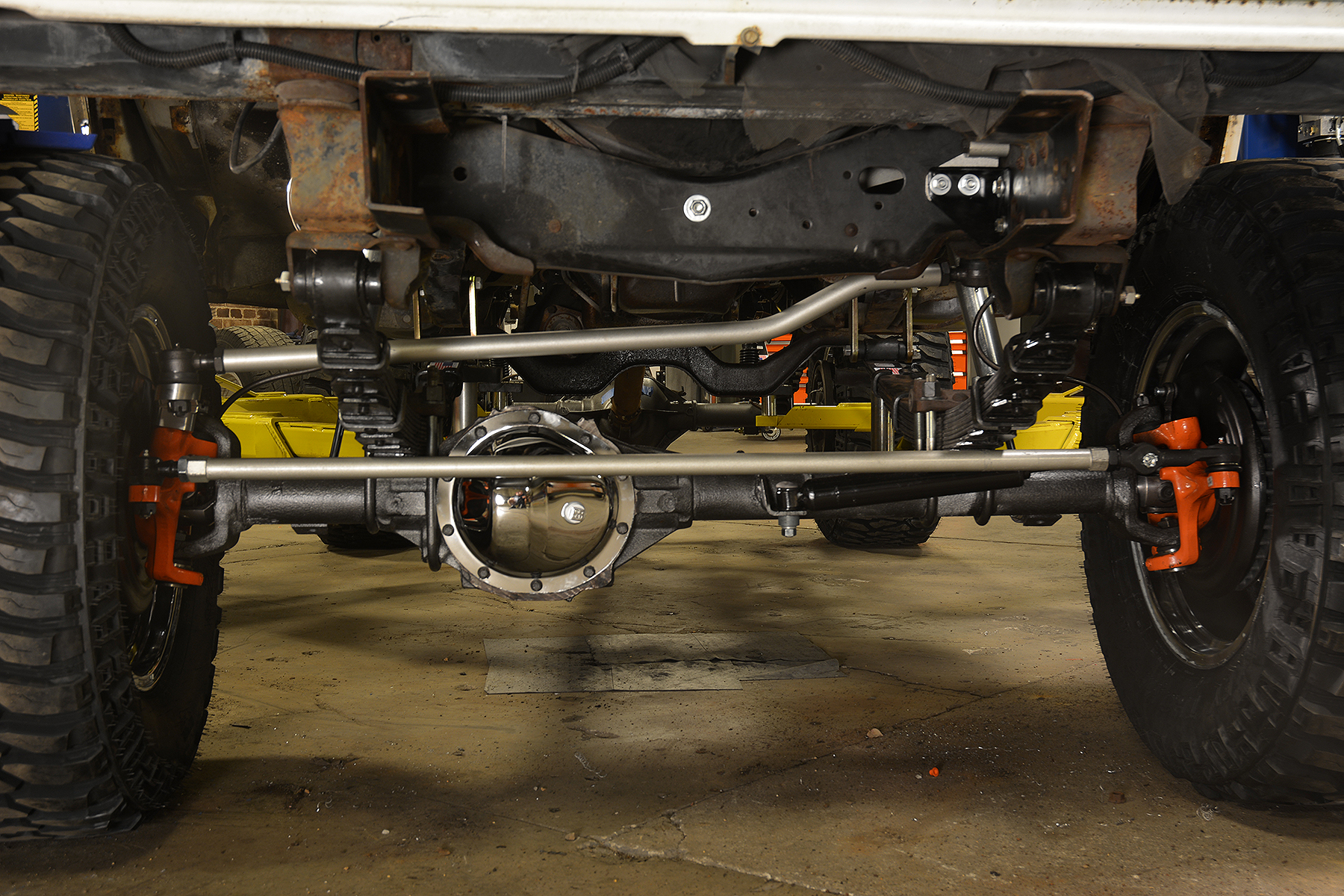 Stunt Double front suspension