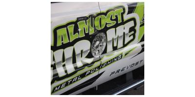 Almost Chrome Logo