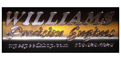 Williams Precision Engines