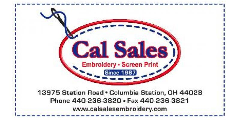 Cal Sales Embroidery