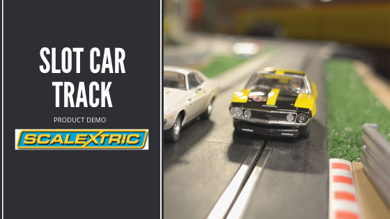 Scalextric Product Demo