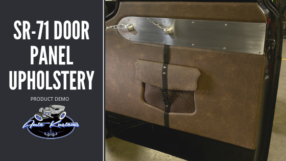 SR-71 Door Panel Upholstery