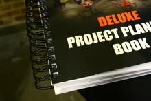 Deluxe Project Planning Book Binder