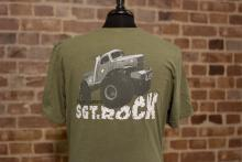 GearZ Sgt Rock Tee Back