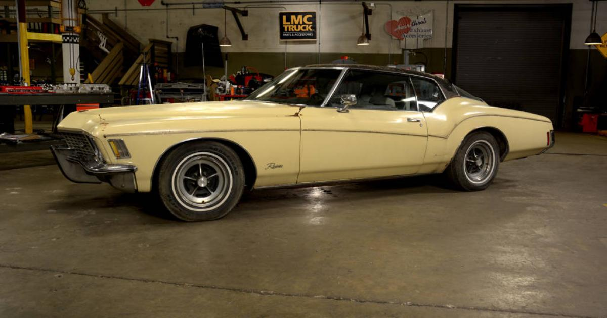 Stacey David's Big Bad Buick | 1972 Buick Riviera