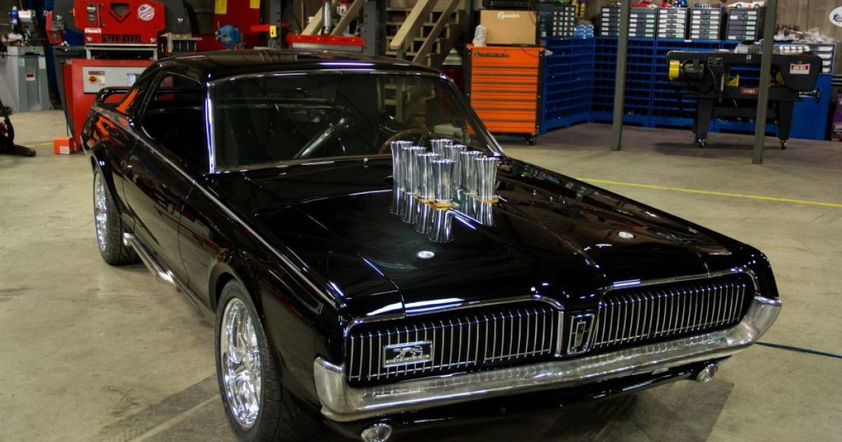 Stacey David's V8 Interceptor | 1967 Mercury Cougar