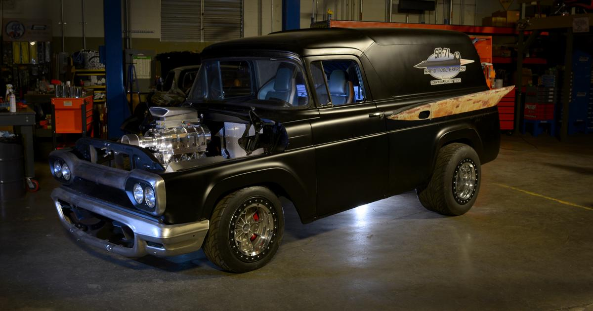 Best Used Truck >> Stacey David's SR-71 Rapid Tool Express | 1959 Ford Panel ...