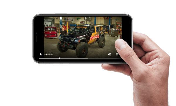 GearZTV on mobile