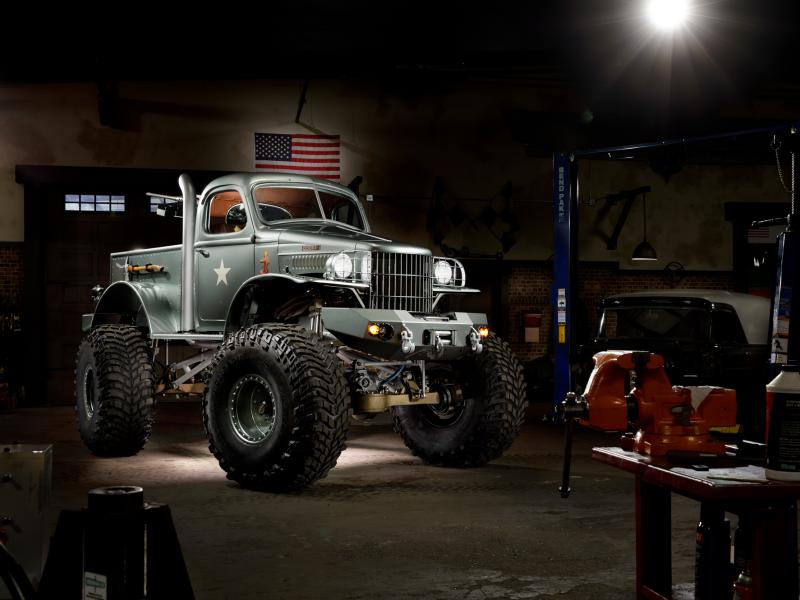 1941 Military 1/2-ton Dodge 4×4 pickup truck