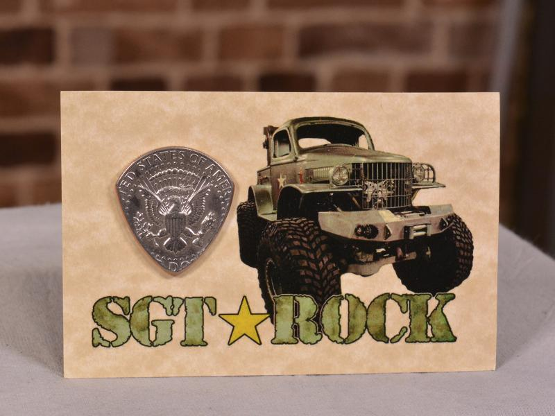 Sgt. Rock Guitar Pick