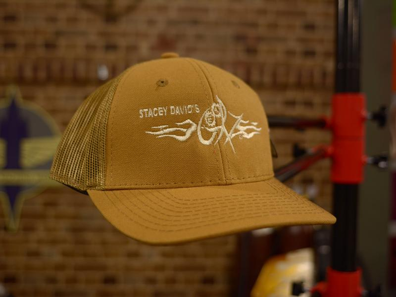 GearZ Brown Logo Hat