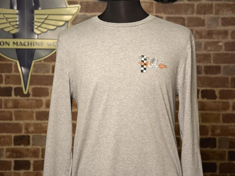 Standard Grey Long Sleeve Tee Front