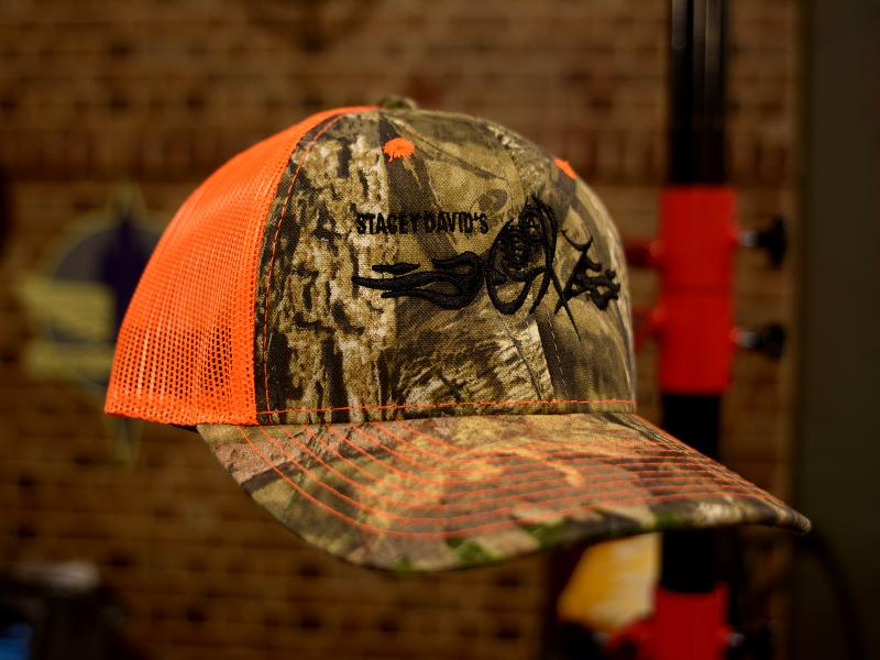 GearZ Orange Camo Hat