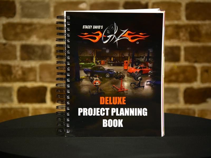 Deluxe Project Planning Book
